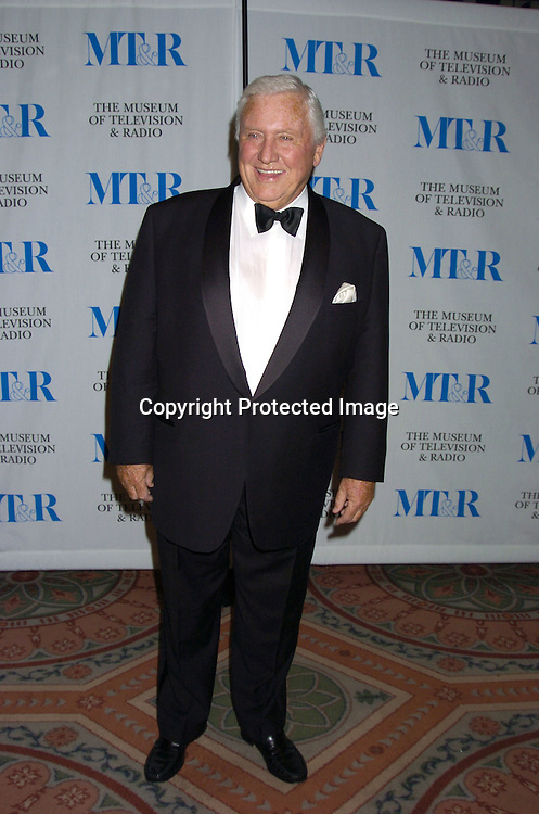 Merv Griffin ..at The Museum of TV and Radio New York Gala  honoring  Merv Griffin on May 26, 2005 at The Waldorf Astoria Hotel...Photo by Robin Platzer, Twin Images