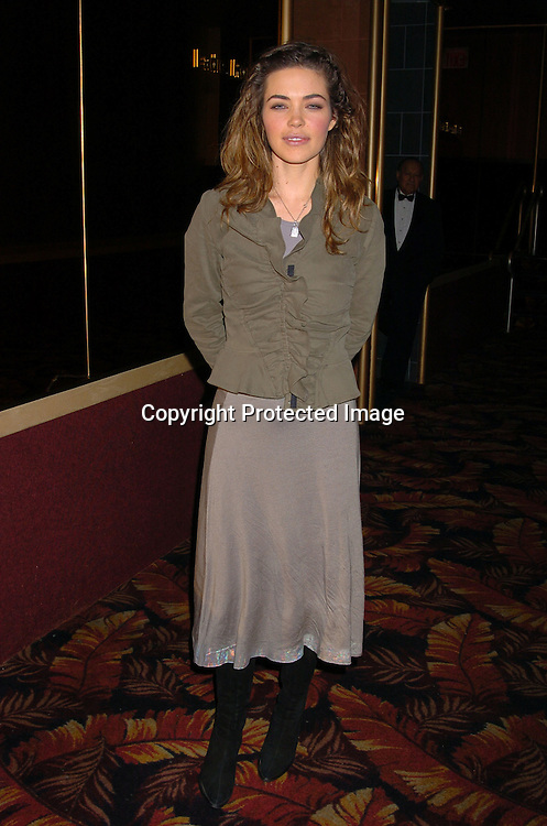 Amelia Heinle..at the All My Children Christmas party at the Copacabana  on December 17, 2003. Photo by Robin Platzer, Twin Images.