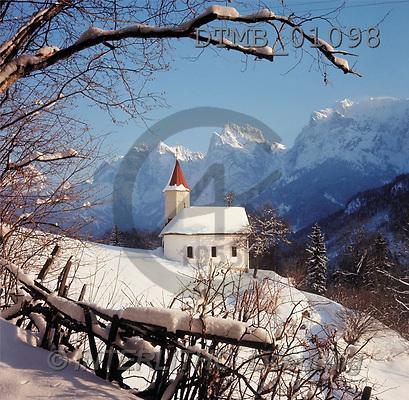 Gerhard, CHRISTMAS LANDSCAPE, photos, kaisertal, austria(DTMB01098,#XL#) Landschaften, Weihnachten, paisajes, Navidad