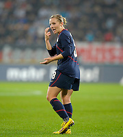 Amy Rodriguez. US Women's National Team defeated Germany 1-0 at Impuls Arena in Augsburg, Germany on October 29, 2009.