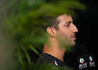Daniel RICCIARDO (AUS) (RENAULT F1 TEAM) during the Bahrain Grand Prix at Bahrain International Circuit, Sakhir,  on 31 March 2019. Photo by Vince  Mignott.