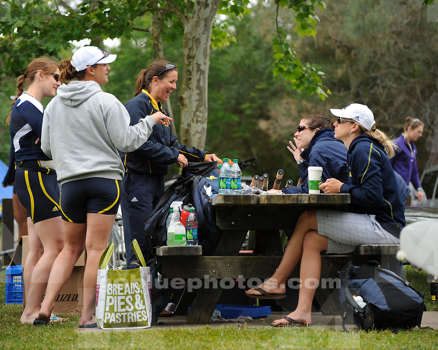 University of Mchigan women's rowing at the NCAA Championships in Gold River, CA, on May 28, 2011.