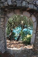 Virgin Mary Island, Parga, Epirus, Greece