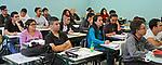 Cursinho Popular Laudelina. Escola Estadual Antonio de Alcântara Machado. Vila Gumercindo-Alto do Ipiranga. São Paulo. 2016. Foto Marcia Minillo.