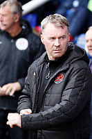 Fleetwood Town manager, John Sheridan during the Sky Bet League 1 match between Peterborough and Fleetwood Town at London Road, Peterborough, England on 28 April 2018. Photo by Carlton Myrie.