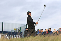Lucas Bjerregaard (DEN) on the 17th tee during round 4 of the Alfred Dunhill Links Championship at Old Course St. Andrew's, Fife, Scotland. 07/10/2018.<br /> Picture Thos Caffrey / Golffile.ie<br /> <br /> All photo usage must carry mandatory copyright credit (&copy; Golffile | Thos Caffrey)