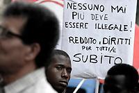 Roma, 20 Giugno 2018<br /> In occasione della giornata mondiale del Rifugiato associazioni antirazziste protestano a Roma davanti la Prefettura per chiedere diritti e accoglienza per i Rifugiati e per tutti i cittadini