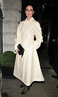 Erin O'Connor at the LFW (Men's) a/w2018 GQ Dinner, Berners Tavern, The London Edition Hotel, Berners Street, London, England, UK, on Monday 08 January 2018.<br /> CAP/CAN<br /> &copy;CAN/Capital Pictures