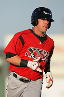 May 2, 2010: Danny Payne of the Lake Elsinore Storm during game against the Lancaster JetHawks at Clear Channel Stadium in Lancaster,CA.  Photo by Larry Goren/Four Seam Images