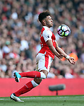 Arsenal's Alex Oxlade-Chamberlain in action during the Premier League match at the Emirates Stadium, London. Picture date: May 7th, 2017. Pic credit should read: David Klein/Sportimage