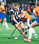 BLOEMENDAAL  - Hockey -  finale KNHB Gold Cup dames, Bloemendaal-HDM . Bloemendaal wint na shoot outs. Nina van der Marel (HDM) . COPYRIGHT KOEN SUYK