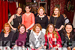 Staff of Ballyduff Pharmacy enjoying their Christmas party on Saturday night at Cassidys front l-r  Cecelia O'Callaghan,Karen Donovan, Patsy Green, Sarah Griffin and Lizzy O'Connor. Back l-r  Siobhan Dowling, Martha Stack, Nuala Lamb and Ann Harty