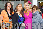 Pictured at Listowel Races, Ladies Day on Friday from left: Anne Heffernan (Abbeyfeale), Rachel O'Sullivan (Abbeyfeale), Michelle Curry (Athea), Siobhan Liston (Athea).