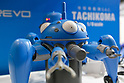 A robot Tachikoma from Ghost in the Shell on display during the AnimeJapan 2017 at Tokyo Big Sight on March 25, 2017, Tokyo, Japan. AnimeJapan 2017 is a trade show promoting ''Everything Anime'' to local and foreign fans and businesses. The show is held over four-day days with March 23-24 reserved for business visitors and March 25-26 for the public. It is expected to attract some 120,000 visitors, including cosplayers. (Photo by Rodrigo Reyes Marin/AFLO)