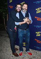 NEW YORK, NY - JUNE 6: Brett Haley and Nick Offerman at the New York Premiere of Rooftop Films' Hearts Beat Loud at Pioneer Works in Brooklyn, New York City on June 6, 2018. <br /> CAP/MPI99<br /> &copy;MPI99/Capital Pictures