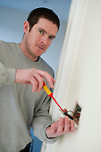 Nick Heaven, electrician, Camden Council.