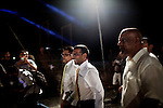 "MALDIVES, MALE NOVEMBER 2013: Mohamed Nasheed became the first democratically elected president of the Maldives in 2008. Former political prisoner, the 'Mandela of the Tropics "", created for the first time a public health system for the Maldivians and imposed, for the first time, the payment of taxes to the oligarchs of the Resort. The reaction of the tycoons do not have to wait long; ancien regime was deposed February 7, 2012. Saturday, November 16, after six daring referrals, lost by a handful of votes in the second ballot, defeated by Abdulla Yameen, the brother of the former dictator, Mamoon Abdul Gayoom.© Giulio Di Sturco"