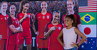 Sponsorship, USWNT vs Japan, August 3, 2017