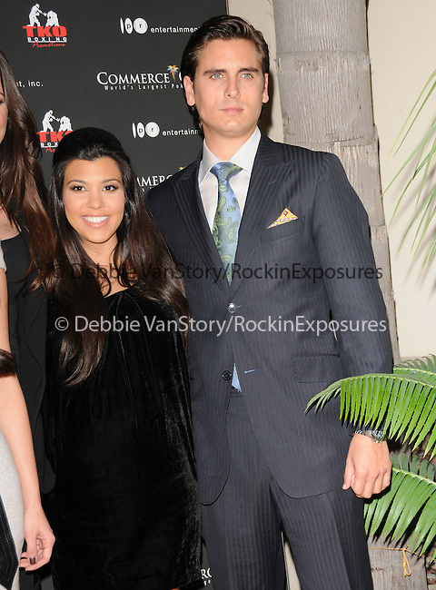 Kourtney Kardashian & Scott Disick at The Kardashian Charity Knock Out held at The Commerce Casino in Commerce, California on November 03,2009                                                                   Copyright 2009 DVS / RockinExposures