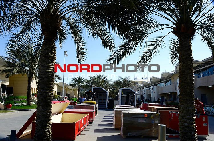 Formula 1 Logistics<br />  Foto &copy; nph / Mathis
