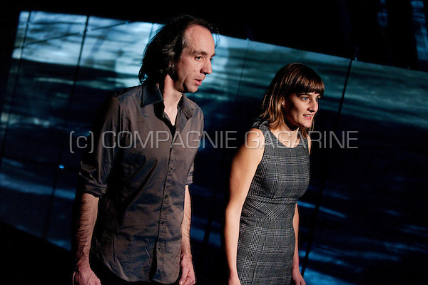 """Theatre company De Theaterfactorij playing """"Aan Chesil Beach"""" directed by Marnick Bardyn (Belgium, 22/11/2010)"""