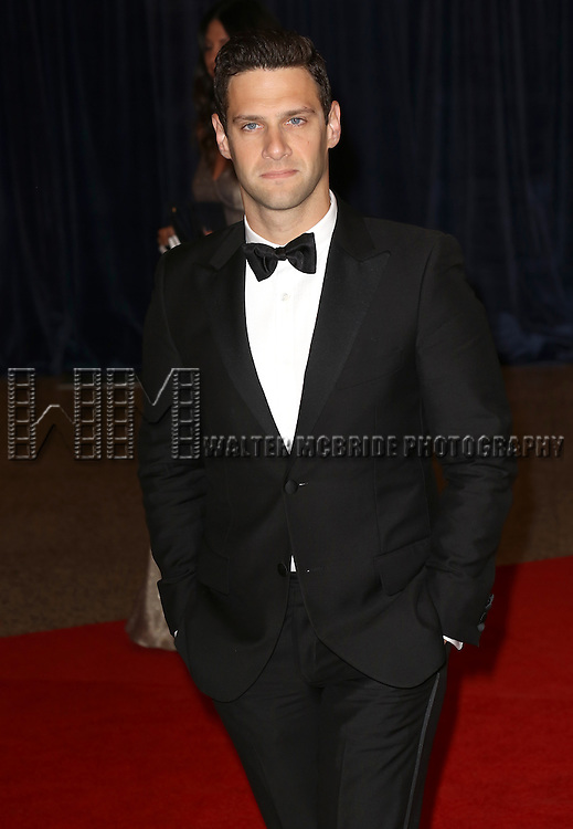 Justin Bartha  attending the  2013 White House Correspondents' Association Dinner at the Washington Hilton Hotel in Washington, DC on 4/27/2013