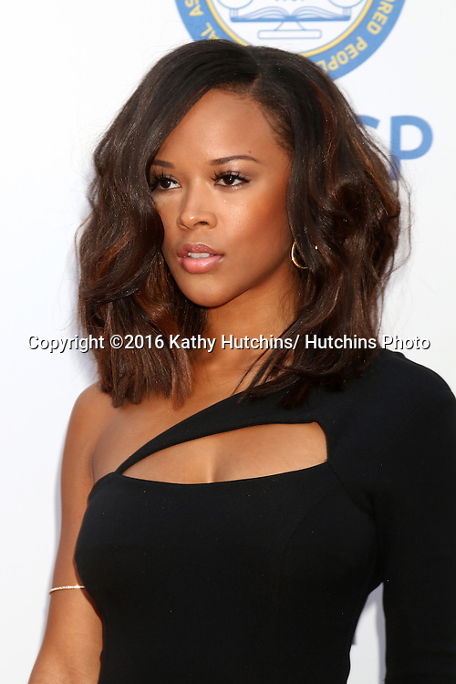 LOS ANGELES - FEB 5:  Serayah at the 47TH NAACP Image Awards Arrivals at the Pasadena Civic Auditorium on February 5, 2016 in Pasadena, CA