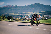 Hamish Bond (NZL)<br /> <br /> MEN ELITE INDIVIDUAL TIME TRIAL<br /> Hall-Wattens to Innsbruck: 52.5 km<br /> <br /> UCI 2018 Road World Championships<br /> Innsbruck - Tirol / Austria