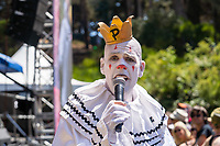 SAN FRANCISCO, CALIFORNIA - AUGUST 11: Puddles Pity Party & Friends - Mike Geier performs during the 2019 Outside Lands Music And Arts Festival at Golden Gate Park on August 11, 2019 in San Francisco, California. Photo: Alison Brown/imageSPACE/MediaPunch