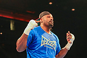 30th September 2017, Echo Arena, Liverpool, England; Matchroom Boxing, Eliminator for WBA Bantamweight World Championship; Undercard Heavyweight contest<br />