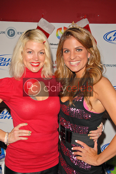 Carrie Simmons and Bridgetta Tomarchio<br /> at Bridgetta Tomarchio B-Day Bash and Babes in Toyland Toy Drive, Lucky Strike, Hollywood, CA. 12-04-09<br /> David Edwards/Dailyceleb.com 818-249-4998