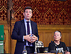 Orgreave campaigners hold Westminster rally before Home Secretary meeting<br /> 13th September 2016, Labour leader Jeremy Corbyn, Shadow Home Secretary Andy Burnham and other MPs join the Orgreave Truth and Justice Campaign <br /> Westminster, London, Great Britain <br /> <br /> <br />  <br /> <br /> followed by an open meeting of campaigners and politicians ahead of a private meeting with Home Secretary Amber Rudd on the campaign&rsquo;s call for a public inquiry. Hillsborough campaigner Barbara Jackson on his left <br /> <br /> <br /> Photograph by Elliott Franks <br /> Image licensed to Elliott Franks Photography Services