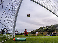 Zac Jones watches the second goal go in during the ISPS Handa Premiership football match between Team Wellington and Wellington Phoenix Reserves at David Farrington Park in Wellington, New Zealand on Wednesday, 6 February 2019. Photo: Dave Lintott / lintottphoto.co.nz