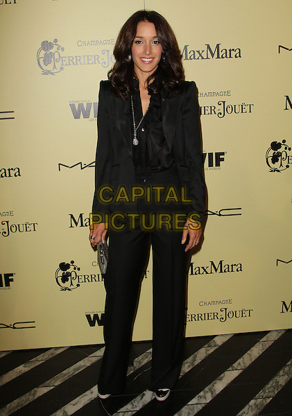 Jennifer Beals.5th Annual Women In Film Pre-Oscar Cocktail Party held at Cecconi's Restaurant, Los Angeles, California, USA..February 24th, 2012.full length black suit.CAP/ADM/FS.©Faye Sadou/AdMedia/Capital Pictures.