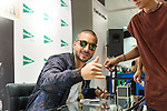 Colombian singer Juan Luis Londono, know as Maluma signing records in Madrid. September 08, 2016. (ALTERPHOTOS/Rodrigo Jimenez)