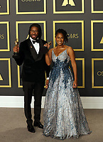 09 February 2020 - Hollywood, California - Matthew A. Cherry, Karen Rupert Toliver attend  the 92nd Annual Academy Awards presented by the Academy of Motion Picture Arts and Sciences held at Hollywood & Highland Center. Photo Credit: Theresa Shirriff/AdMedia