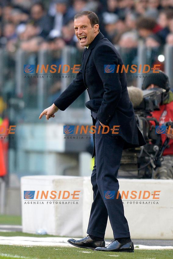 Massimiliano Allegri Juventus <br /> Torino 22-01-2017 Juventus Stadium Calcio Campionato Italiano Serie A 2016/2017 <br /> Juventus - Lazio <br /> Foto Filippo Alfero Insidefoto