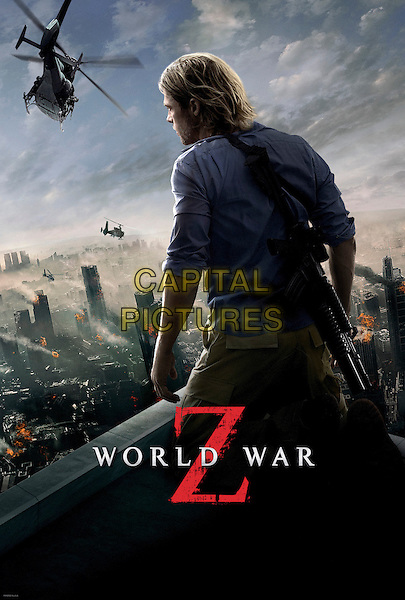 KEY POSTER ART<br /> in World War Z (2013) <br /> *Filmstill - Editorial Use Only*<br /> CAP/FB<br /> Image supplied by Capital Pictures