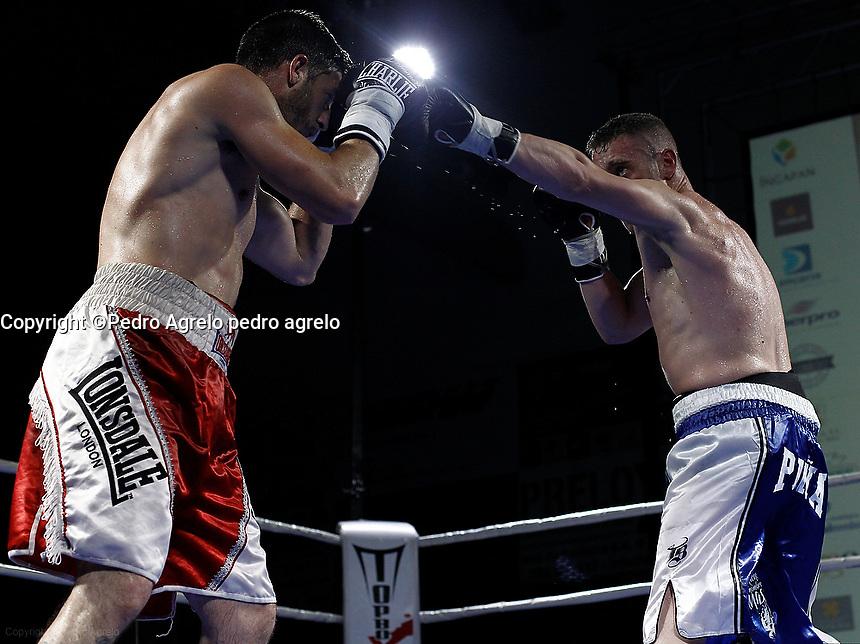 Fecha: 09-05-2015.- Boxeo Alberto Piñeiro, el Piña