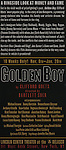 Promotion Poster at the Meet & Greet for the Lincoln Center Theater's 75th Anniversary Production of 'Golden Boy' at their Rehearsal Studios on 10/25/2012 in New York.