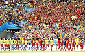 Belgium team group, JUNE 22, 2014 - Football / Soccer : Belgium team group celebrate with fans after winning the FIFA World Cup Brazil 2014 Group H match between Belgium 1-0 Russia at the Maracana stadium in Rio de Janeiro, Brazil. (Photo by AFLO)