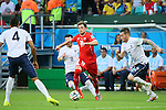 Admir Mehmedi (SUI), <br /> JUNE 20, 2014 - Football /Soccer : <br /> 2014 FIFA World Cup Brazil <br /> Group Match -Group E- <br /> between Switzerland 2-5 France <br /> at Arena Fonte Nova, Salvador, Brazil. <br /> (Photo by YUTAKA/AFLO SPORT) [1040]