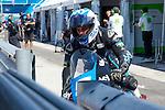 Gran Premio TIM di San Marino during the moto world championship in Misano.<br /> 13-09-2014 in Misano world circuit Marco Simoncelli.<br /> Moto3<br /> romano fenati<br /> PHOTOCALL3000