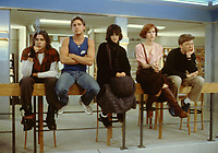 The Breakfast Club (1985) <br /> Molly Ringwald, Judd Nelson, Anthony Michael Hall, Ally Sheedy &amp; Emilio Estevez<br /> *Filmstill - Editorial Use Only*<br /> CAP/KFS<br /> Image supplied by Capital Pictures