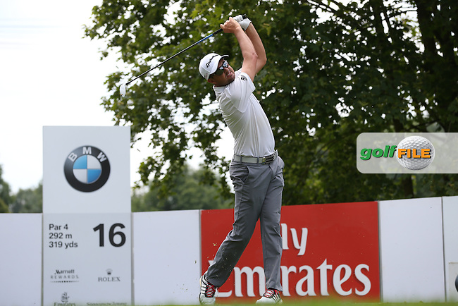 Jake Roos (RSA) drives from the 16th during Round Two of the 2015 BMW International Open at Golfclub Munchen Eichenried, Eichenried, Munich, Germany. 26/06/2015. Picture David Lloyd | www.golffile.ie