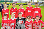 Saint Finians National School, Waterville under 12 team Primary Schools Football Finals at Austin Stack park on Thursday, Front Row from left, Jack Curran, Killian Cronin, Padraig Fitzpatrick, Kiernan O'Sullivan and Genie Donnelly. Back Row from left: James Fitzgerald, Killian Clifford, Patrick O'Dwyer, Shea Flaherty, Jamie O'Sullivan,