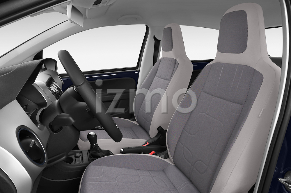 Front seat view of a 2014 Volkswagen up! Cross up! 5 Door Hatchback 2WD Front Seat car photos