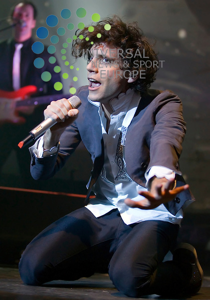 Mika plays at the O2 Academy in Glasgow on Monday 22nd February 2010. ...Picture: Peter Kaminski/Universal News and Sport (Scotland)