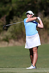 16 October 2016: UNC's Killian Casson. The Final Round of the 2016 Ruth's Chris Tar Heel Invitational NCAA Women's Golf Tournament hosted by the University of North Carolina Tar Heels was held at the UNC Finley Golf Club in Chapel Hill, North Carolina.