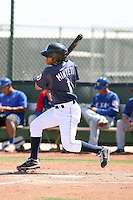 Jorge Minyeti, San Diego Padres minor league spring training..Photo by:  Bill Mitchell/Four Seam Images.
